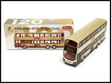 TINY HONG KONG CITY 120 KMB Volvo B9TL Wright Gold Bus DIECAST CAR NEW ( 59X )