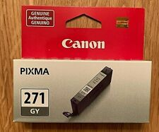 Canon Pixma 271 GY Gray Ink Replacement Cartridge - Brand New in Sealed Package