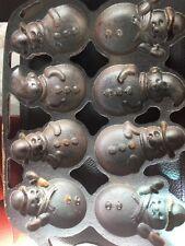 Paula Deen Snowman Cast Iron Mold