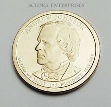 2011 S Andrew Johnson Presidential  *PROOF* Dollar Coin **FREE SHIPPING**