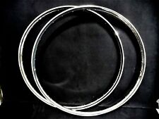 "RALEIGH Bicycle RIMS steel 1 pair 26"" x 1 3/8 Sturmey Archer 32 / 40 Holes NOS"