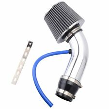 "3"" High Flow Cold Air Intake Kit System Air Intake Filter with Clamp Accessories"