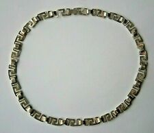 Chain STERLING Silver 925 Ornament 33.6g Ukrainian jewelry mark Charkiv Necklace