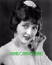 CARMEL MYERS 8X10 Lab Photo 1920s Bejeweled Silent Era Glamour Portrait