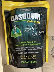 Nutramax Dasuquin with MSM Soft Chews 150 Count Large Dog Exp 11/2022