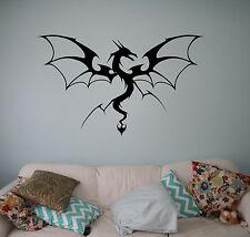 Dragon Wall Vinyl Decal Monster Vinyl Sticker Medieval Home Bedroom Interior 9