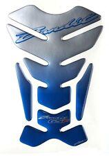 MOTORCYCLE TANK PAD 3D PROTECTOR PARASERBATOIO SCHUTZ PAD SUZUKI BANDIT BLUE