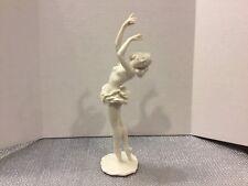 Hutschenreuther Kunstabteilung Porcelain White Nude Ballet Dancer Figurine