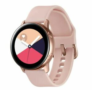 SAMSUNG Galaxy Watch Active 28.1mm SM-R500 Smartwatch Bluetooth Wifi Only- Rose