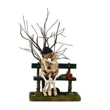 "Dept. 56 Snow Village Halloween ""KISS OF DEATH"" ~ NEW ~ Great Skeleton Accessory"