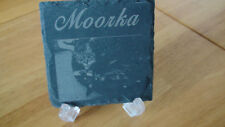 Cat memorial Personalised engraved slate PET remembrance for your beloved one