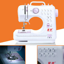 New 12 Stitches Multifunction Electric Overlock Sewing Machine Sewing Home UKLQ