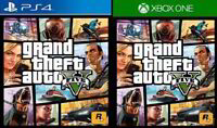 Grand Theft Auto V (Sony PlayStation 4/Microsoft Xbox One) S Pro X PS4 X1 GTA 5