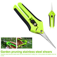 Garden Pruning Shears Fruit Picking Scissors Potted Trim Weed Branches Scissors