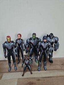 "Marvel Avengers ENDGAME Titan Hero Series 12"" FX Slot Action Figure's Bundle x6"