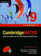 Cambridge Mathematics NSW Syllabus for the Australian Curriculum Year 9 5.1, 5.2