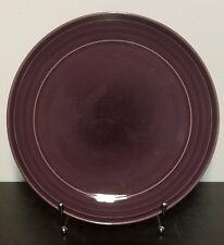 "Pier 1 ESSENTIALS PURPLE Dinner plate, 10 1/2"", All Purple, Very good"