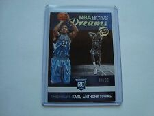 2015-16 Panini NBA Hoops Dreams Artist Proof Karl Anthony Towns #6 #'d 64/99