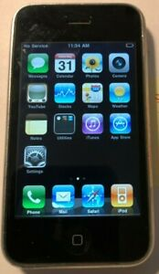 Apple iPhone 3G - 16GB - White (AT&T) A1241 (GSM) Fast Ship Good Used