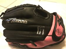 "Mizuno 11"" Youth Fastpitch Softball Glove Pink & Black Fast25 Prospect New Right"
