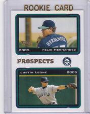 Felix Hernadez ROOKIE CARD 2005 Topps Prospects BASEBALL Seattle Mariners RC