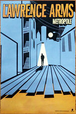 THE LAWRENCE ARMS Metropole Ltd Ed Discontinued RARE Poster +FREE Punk Poster!