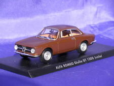 ALFA ROMEO GIULIA GT 1300 JUNIOR 1:43 SOLIDO NEW IT002 BROWN HACHETTE