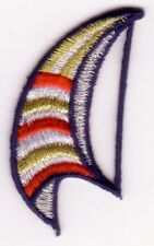 Nautical Sailboat Spinnaker Sail Embroidery Patch