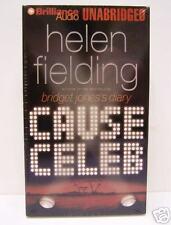 CAUSE CELEB, HELEN FELDING, UNABRIDGED, AUDIO BOOK, NEW
