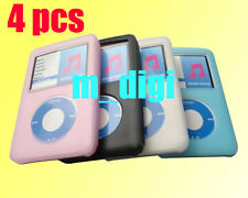 4X Silicone Soft Rubber Cover Case For Apple iPod Classic 160Gb 320Gb 7th Gen