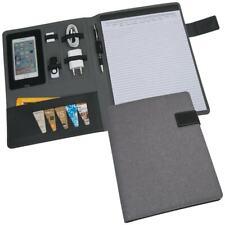 Gepolsterte Schreibmappe Salermo DIN A4 im Materialmix -NEU-