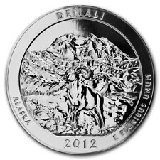 2012 5 oz Silver ATB Denali National Park, AK - SKU #68005