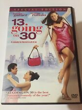 13 Going on 30 (DVD, 2004, Special Edition) Widescreen. Canadian. Jennifer Garne