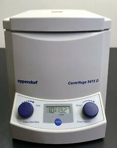 Eppendorf 5415D Centrifuge 24 Place Rotor Germany Made Tested Excellent Cosmetic