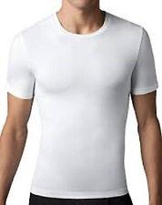 Lot of 9 Mens Crew Neck T-Shirt Undershirt 100% Cotton Plain Tee White M