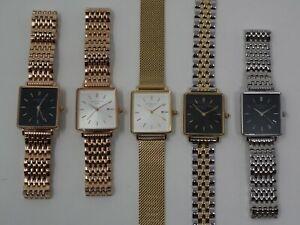Rosefield Uhr  The Boxy  Armbanduhr Damenuhr Quarzuhr für Frauen