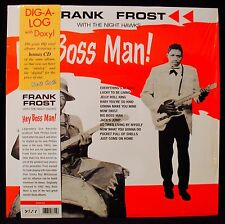 FRANK FROST-HEY BOSS MAN-Blues Album In Shrink-DOXY #DOK315 180 gram HQ Vinyl