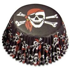 MINI Muffinförmchen Cupcake Papierförmchen Pirat Piraten Städter