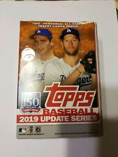 2019 Topps Basebal Update Series Baseball Cards Opened Box