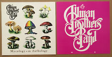 Allman Brothers Rare 1998 Set of 2 Double Sided Promo Poster Flat 4 Mycology Cd