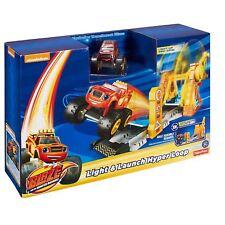 Fisher-Price Blaze & the Monster Machines Light & Launch Hyper Loop Toy DTK34