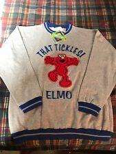 Vintage 90's Elmo Sweatshirt That Tickles hipster  Sesame Street Retro  L
