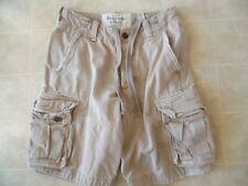 A&f Abercrombie & Fitch Vintage para Hombre Pantalones Cortos Talla 28