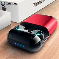 TOMKAS Bluetooth Headphones TWS Earbuds Wireless Bluetooth Earphones Stereo