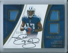 2017 Immaculate Player's Collection Taywan Taylor RC Triple Jersey AUTO /99