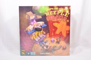 Meeple Circus Family Board Game by Matagot - Factory Sealed