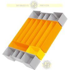 SORTIMO-Insetboxen-Set F3 für L-BOXX 102 auch f.BOSCH Gr.1 f.Kleinteile EInsatz