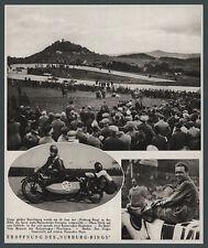Nürburgring Caracciola Alfa Romeo Eröffnungsrennen Auto Motorrad Motorsport 1927