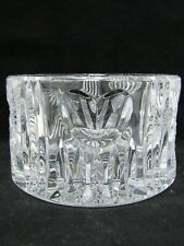 Waterford Millennium Wine Champagne Coaster Cut Crystal Bowl