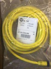 Allen Bradley 871A-CS4-N4 4 Pin Mini Cable Straight 4M